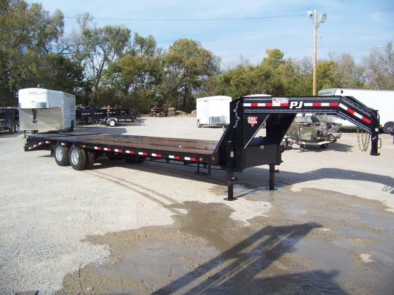 2019 PJ Trailers 30' Low-Pro Flatdeck with Duals Trailer