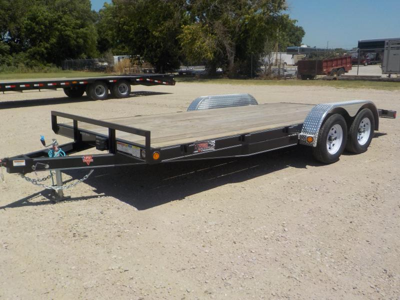 2020 PJ 18' Open Car Trailer