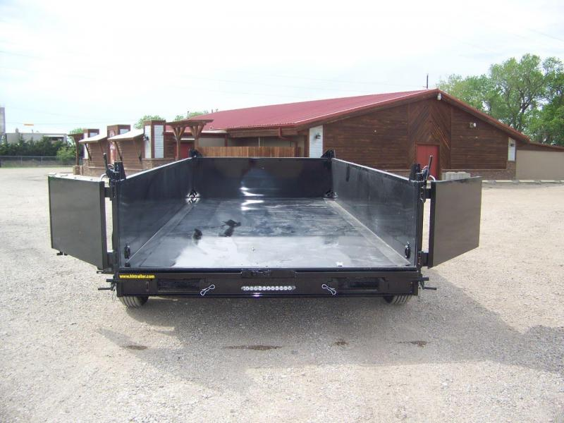 2018 H and H Trailer H8316DBW-B-140 Dump Trailer