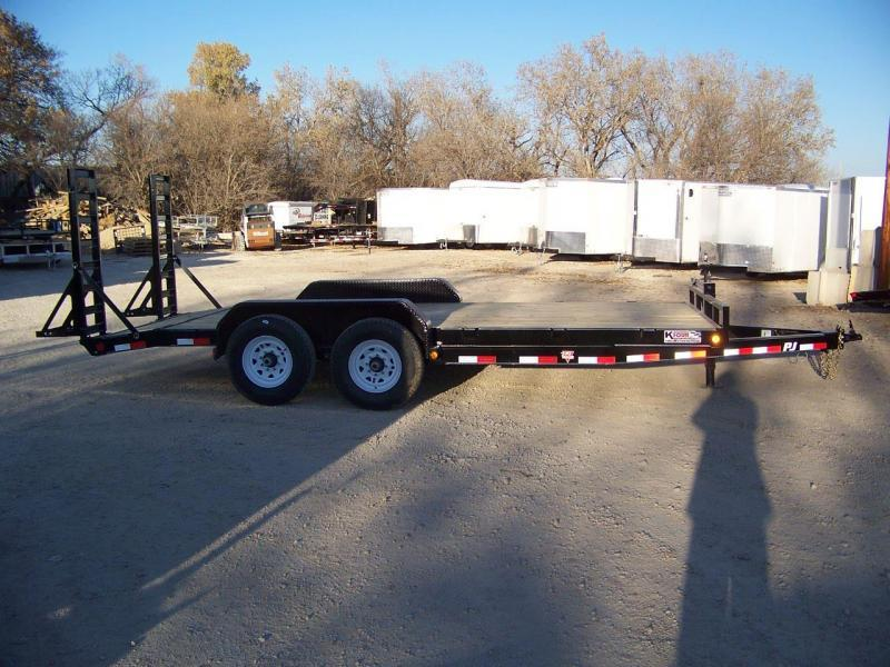 2020 PJ Trailers 6 in. Channel Equipment (CC) Equipment Trailer