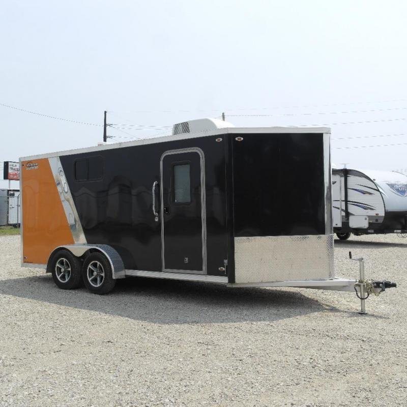 2015 Legend Manufacturing 7X16 DELUXE V NOSE Enclosed Cargo Trailer