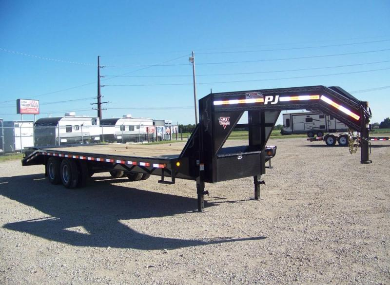 2019 PJ Trailers 27' Classic Flatdeck with Duals Trailer