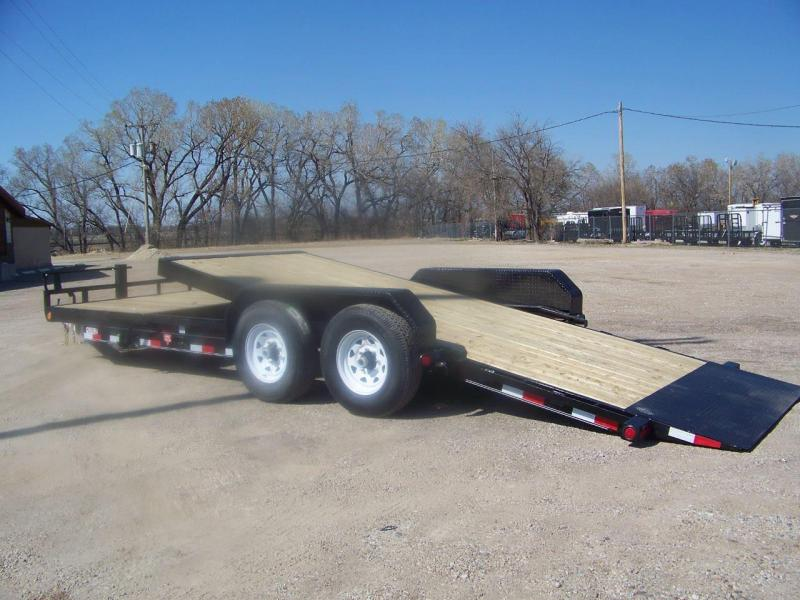 2019 PJ Trailers 22' T6 Equipment Tilt Trailer