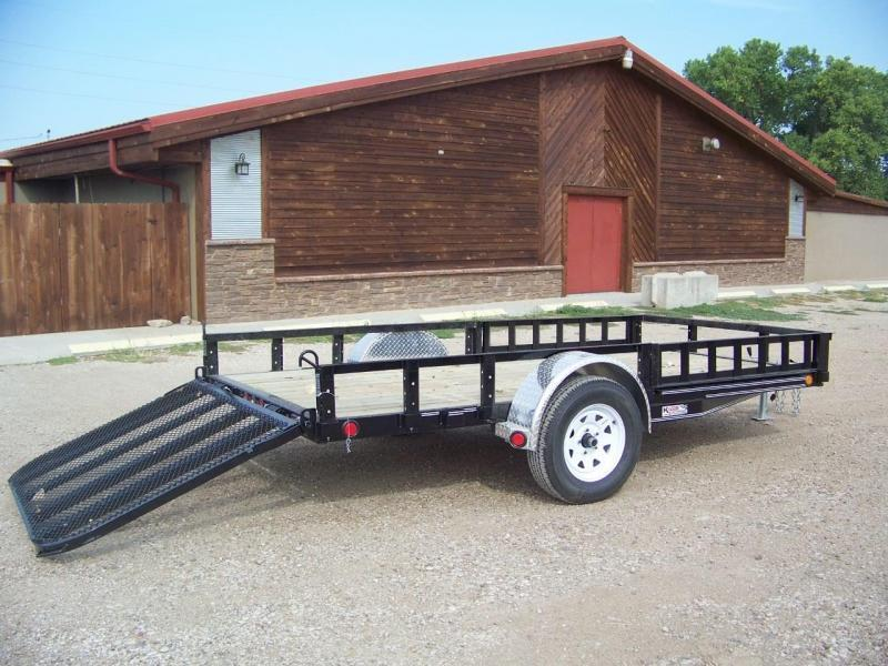 "2019 PJ 12'x72"" [U2] Single Axle Channel Utility Trailer"