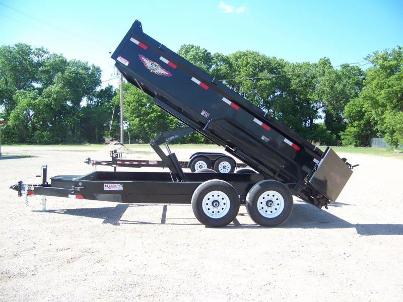 2018 H and H Trailer H8314DBW-B-140 Dump Trailer
