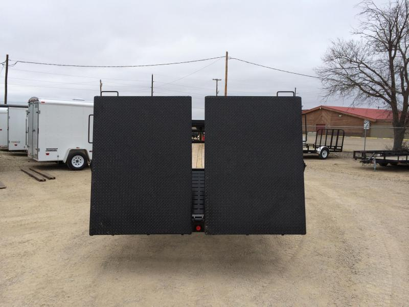 2019 PJ Trailers 32 CLASSIC FLATDECK WITH DUALS Flatbed Trailer