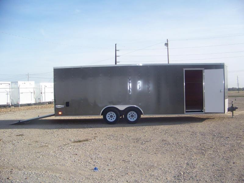 2018 Haulmark Enclosed 85x24 Car Racing Trailer