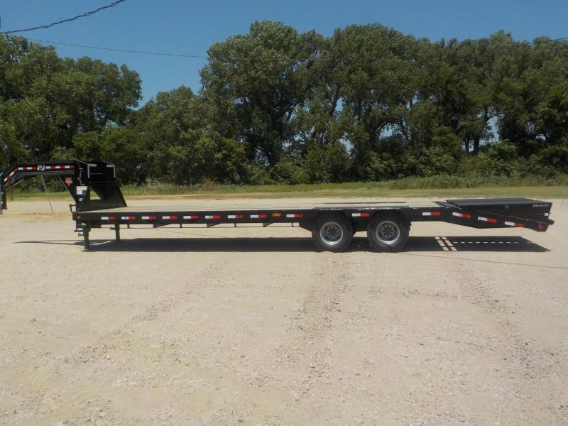 2020 PJ Trailers 30' Low-Pro Flatdeck with Duals (LD) Flatbed Trailer