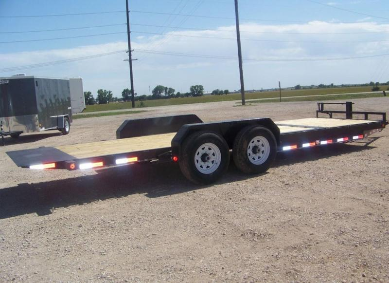 2019 PJ 22' [T6] Tilt Equipment Car Hauler