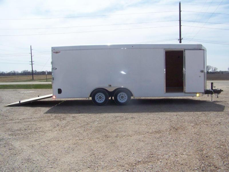 2018 H and H Trailer Enclosed H10120CACHV-100 Car / Racing Trailer