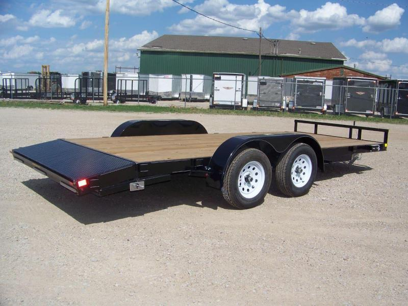2018 H&H 82x16ft Open Car Trailer