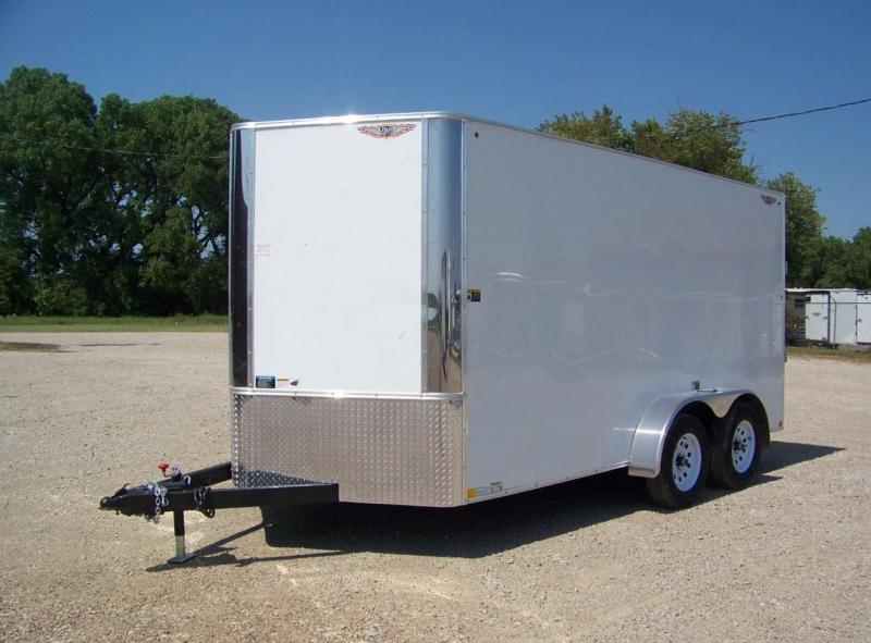 2019 H&H 7x14 TFT Enclosed Cargo Trailer