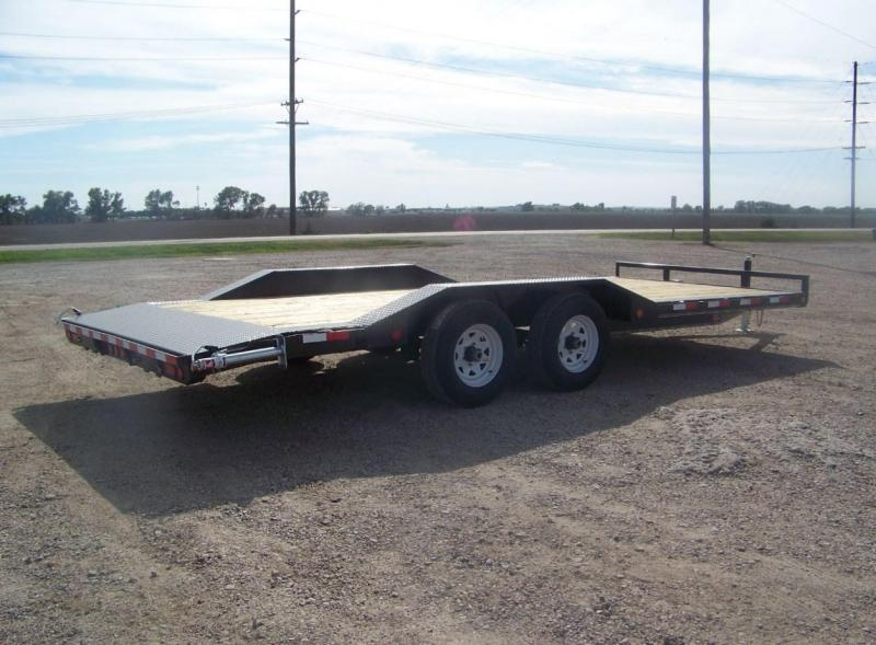 2020 PJ 20' Open Car Trailer