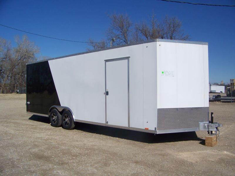 2019 Pace American Elite 8.5X24 Enclosed Car / Racing Trailer