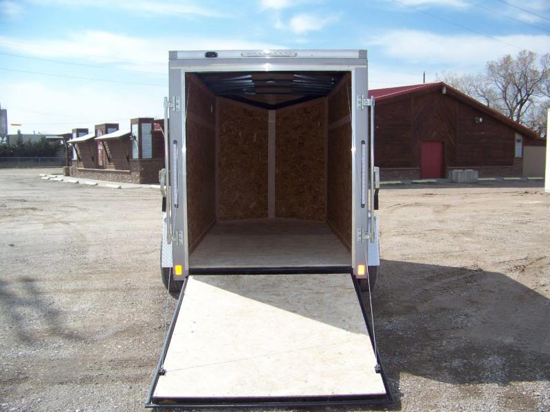 2019 Pace American EX5X10S12DLX Enclosed Cargo Trailer