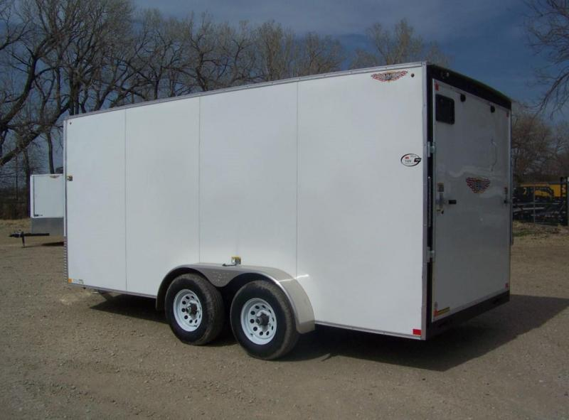2018 H and H Trailer 7X16 TDM FLAT TOP HH VN 10K CARGO