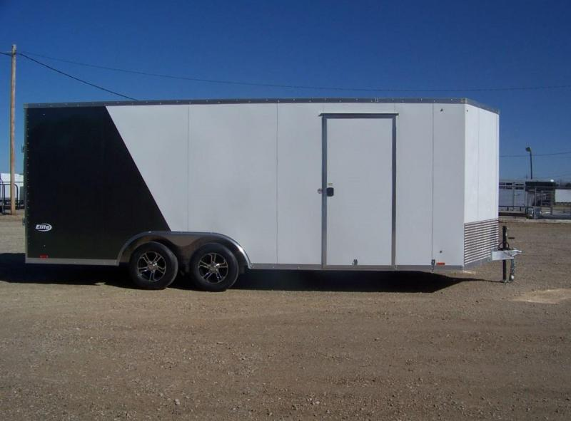 Used 2019 Pace 8.5x20 Enclosed Car / Racing Trailer