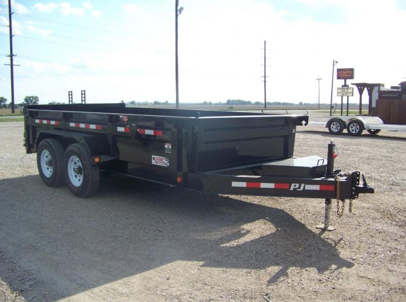 2018 PJ Trailers 83 in. Low Pro Dump (DL) Trailer