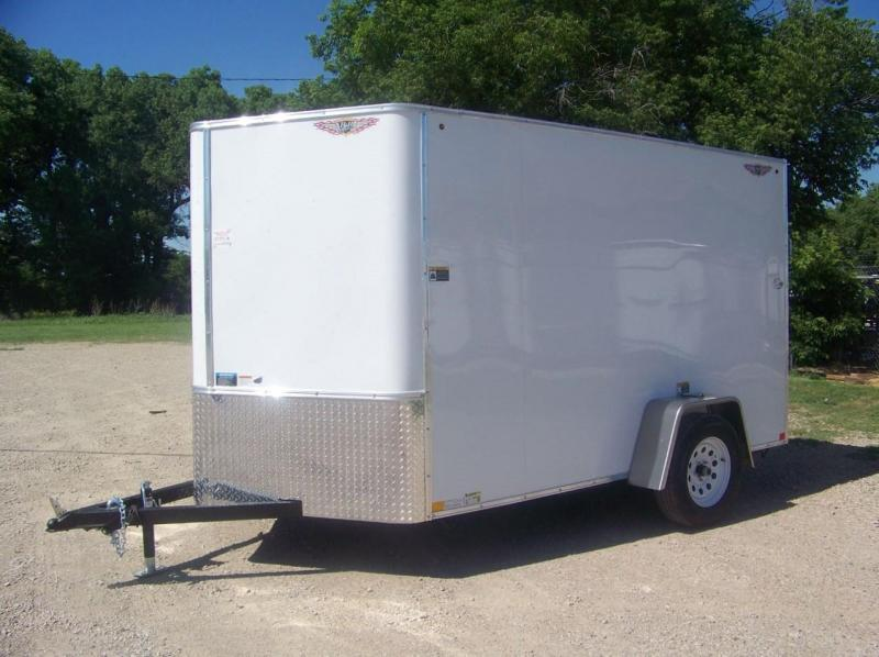 2018 H and H Trailer H7210SFTV-035 Enclosed Cargo Trailer