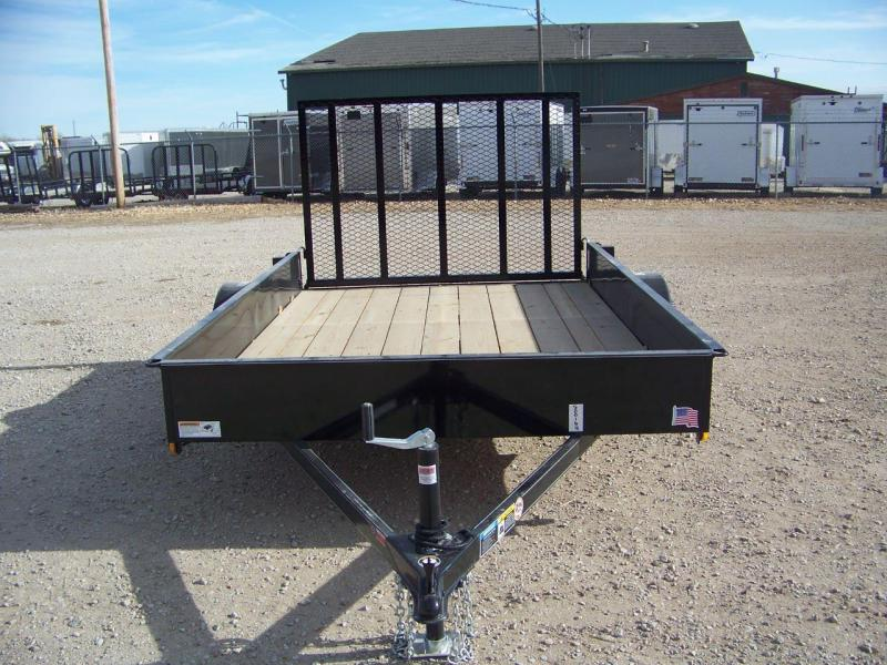 2018 H and H Trailer Solid Side Utility Trailer