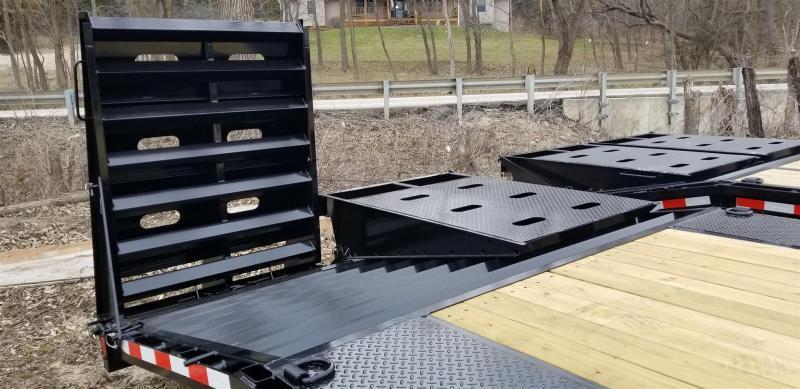 2019 Sure-Trac 8.5x20+5 Deckover Equipment Trailer w/Full Width Ramps 16k