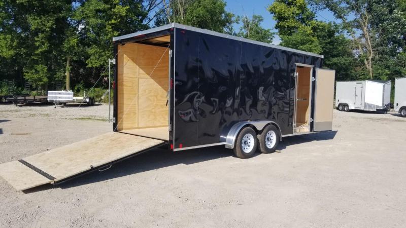 2019 Interstate 7x18 SFC Enclosed Cargo Trailer 7k in Ashburn, VA