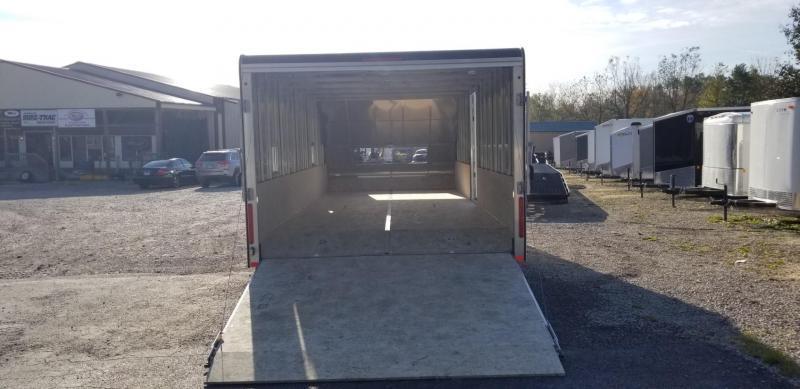 2019 R&R 20ARC All Aluminum 4 Place Enclosed Snowmobile Trailer 6k