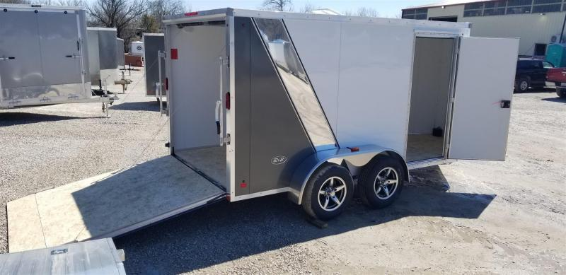 2019 R and R Trailers 7x12 FE All Aluminum Enclosed Cargo Trailer 7k