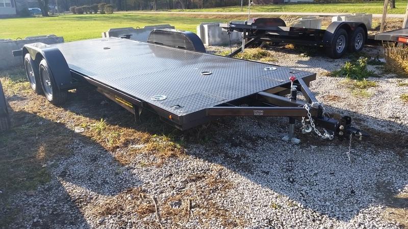 """2019 Kwik Load 7x20 Steel """"Rollback"""" Car Hauler 7K"""