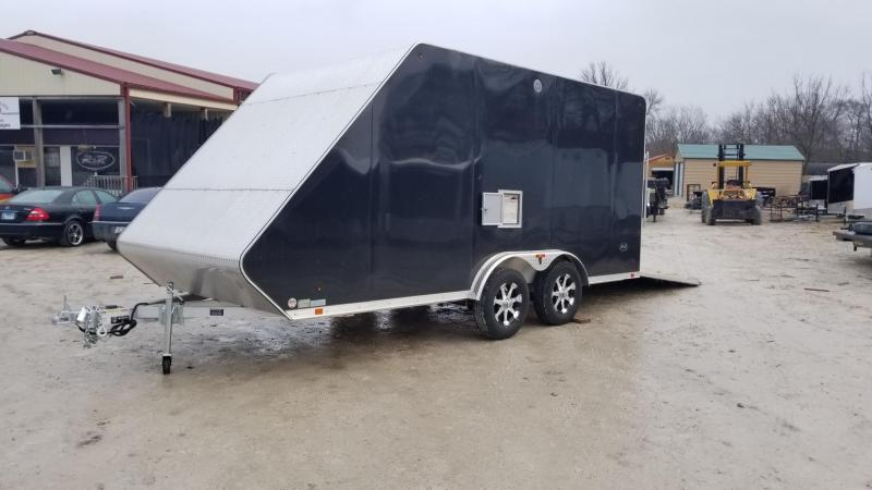 2017 R&R 7.5x16 ARC HYBRID Snowmobile Trailer 6k