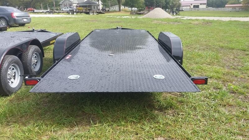 2018 Kwik Load 7x18 SDX Steel Deck Car Hauler 7K