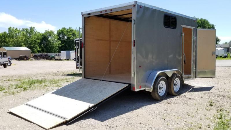 2019 Interstate 7x12 SFC Enclosed Cargo Trailer 7k  in Ashburn, VA