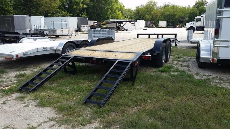 2018 MEB 7x20 w/Stand up ramps 12K