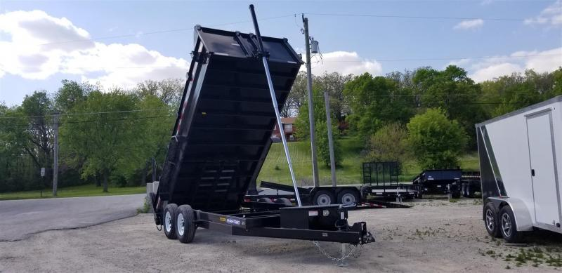 2019 Sure-Trac 82x16 Telescopic Dump Trailer 14k