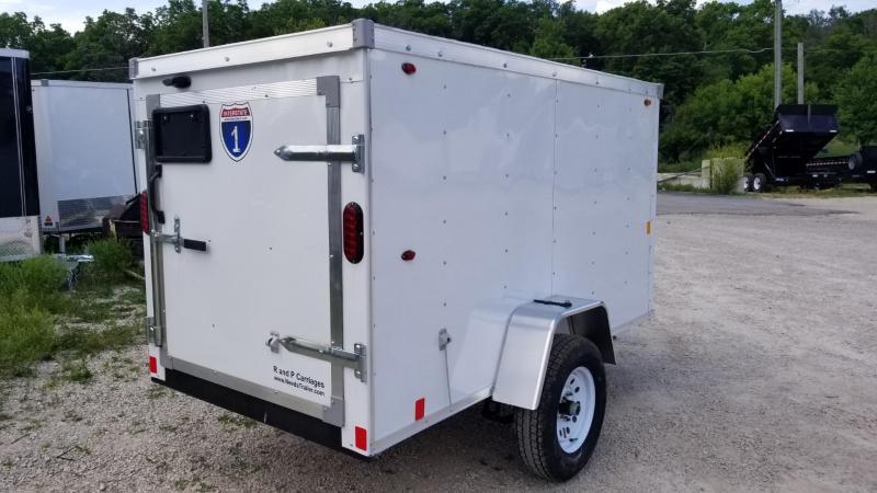 2019 Interstate 4x8 SF Enclosed Cargo Trailer 2k