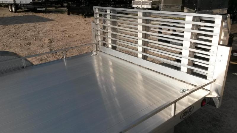 2018 R&R 6x12 UTA Utility w/Bi Fold Ramp 3k