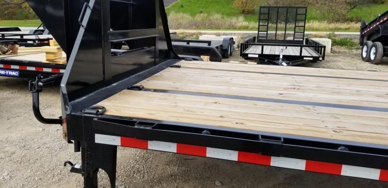 2019 Sure-Trac 8.5x20+5 Heavy Duty Gooseneck Equipment Trailer w/Full Width Ramps 20k