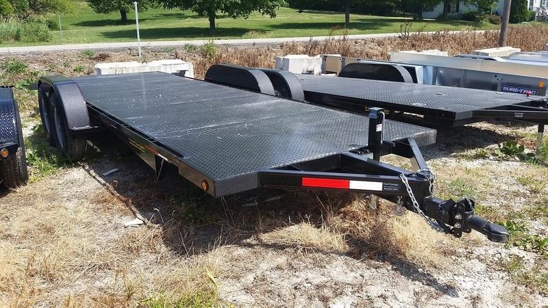 2017 Kwik Load 7x20 Steel Deck Car Hauler 10K