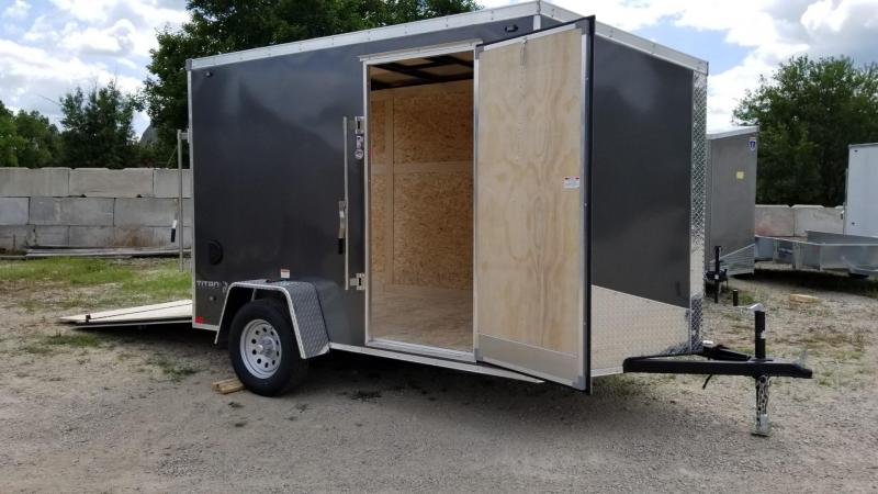 2020 Stealth 6x12 Titan SE Enclosed Cargo Trailer 3k
