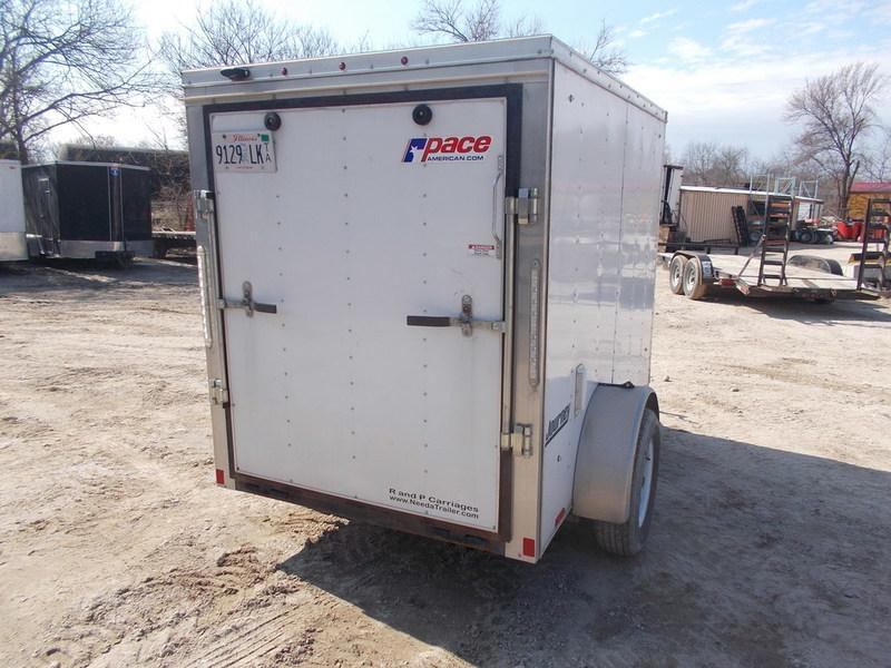RENTAL #15 5x8 Pace Cargo Trailer