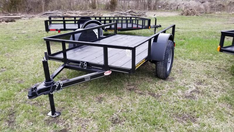 2019 M.E.B 5x10 Tilt Utility Trailer w/Board Holders 3k