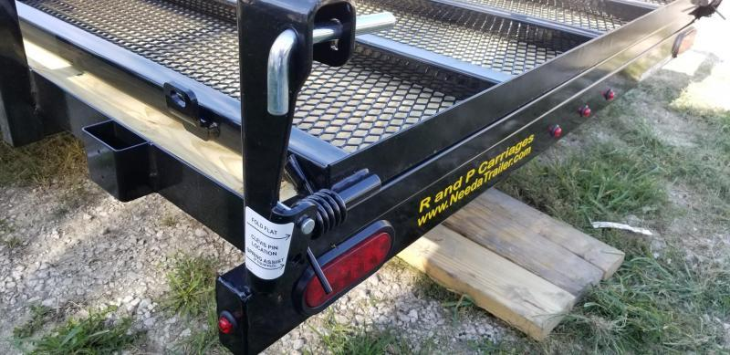 2020 Sure-Trac 6x12 Tube Top Utility w/Fold Flat Gate 3k