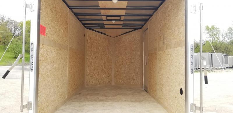 2020 Stealth Enterprises 7x14 titan se enclosed cargo trailer