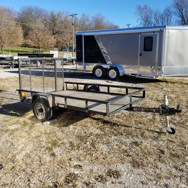 2011 Carry On 5x8 Utility w/Gate