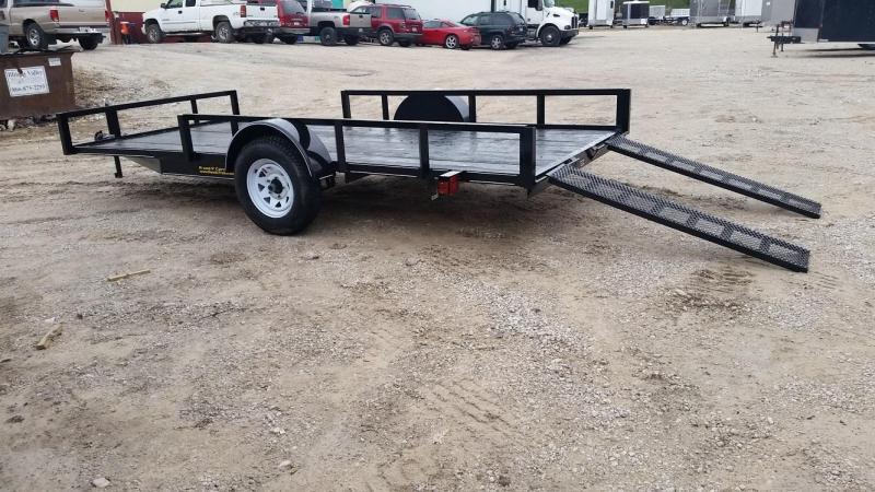 2018 M.E.B 6.4x12 ATV/Utility Trailer 3k