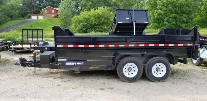 2018 Sure-Trac 82x12 Telescopic Dump Trailer 12k