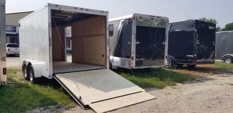 2020 Stealth 7x14 Titan SE Enclosed Cargo Trailer 7k