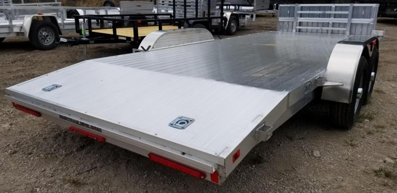 2019 R&R 7x20 All Aluminum Open Deck Auto Hauler 10k