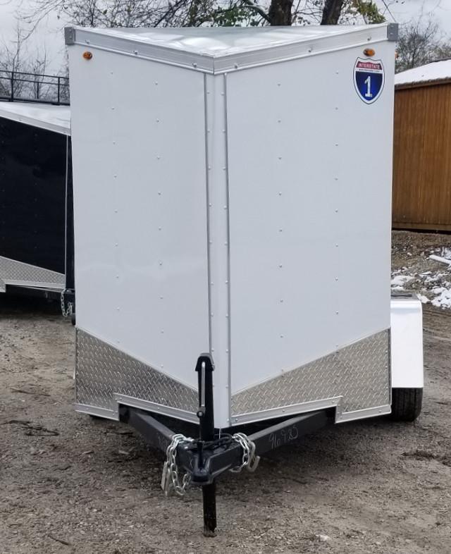 2019 Interstate 5x8 SFC Cargo Trailer 3k