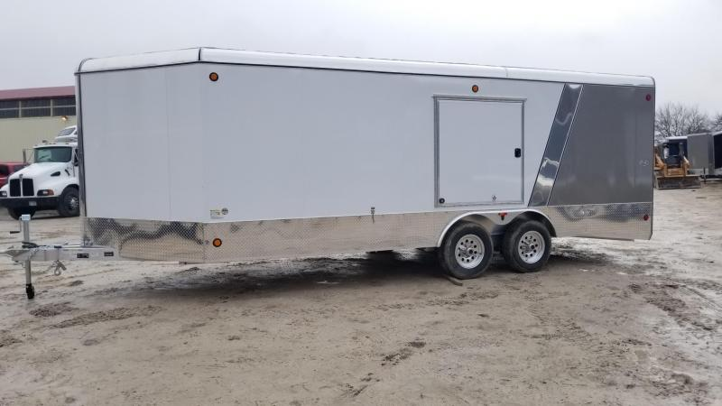 2018 R&R 8x20 VDCP Enclosed Car Hauler Trailer 10k